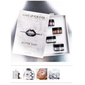 Make Up For Ever Glitter Dust Set - BRAND NEW!